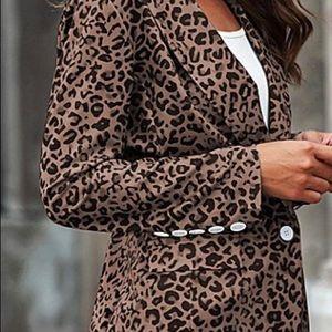 Leopard Blazer ...Women's